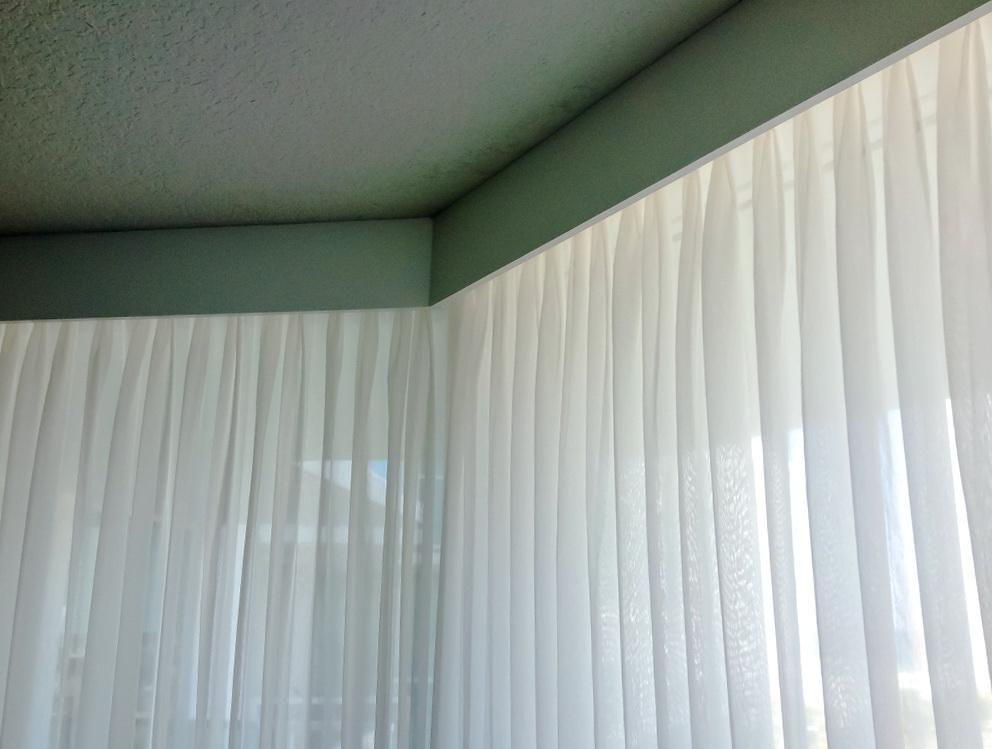 White Sheer Pinch Pleat Curtains Home Design Ideas