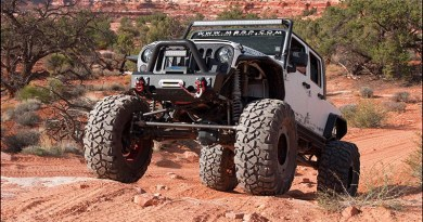 MBRP Jeep at MOAB