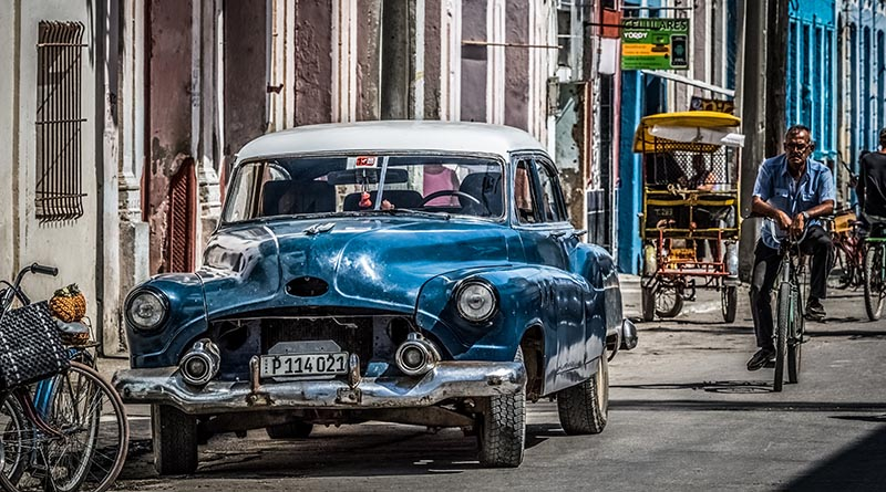 The Presence Of Classic Cars In Cuba The Engine Block