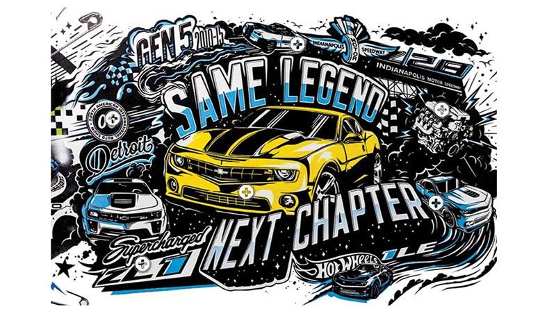 Fifth Generation Chevy Camaro - Courtesy of Chevrolet