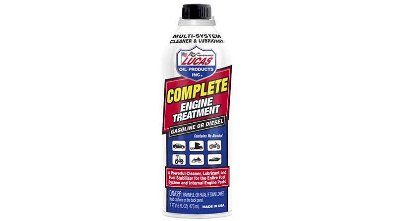 New Complete Engine Treatment by Lucas Oil - The Engine Block