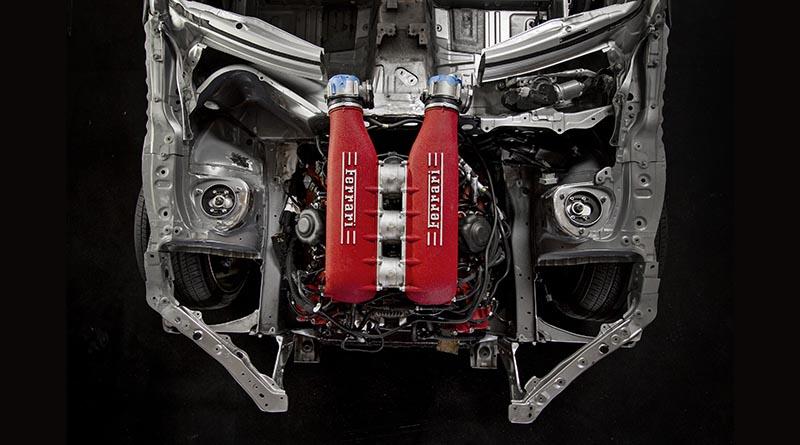 Roadandtrack Com Ferrari 458 V8 The Engine Block