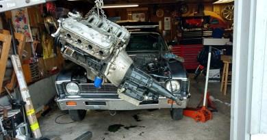 Potucek Garage Project - Motor Install