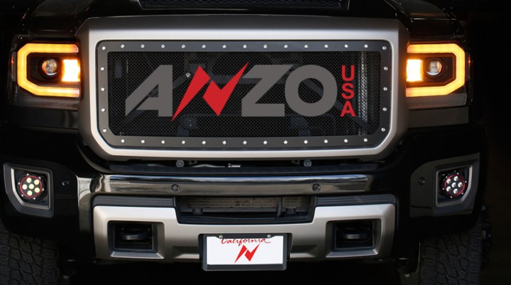 Anzo Headlights 2017 Gmc Sierra