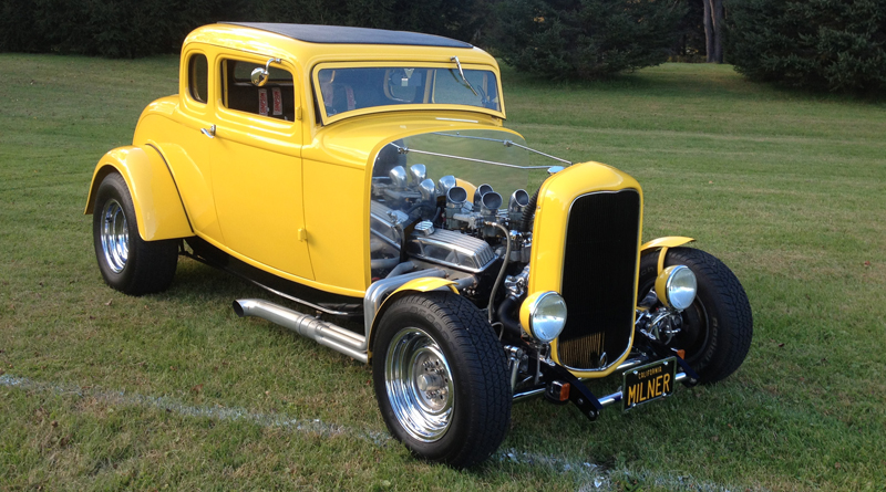 Wanamaker '32 Ford Collection - Yellow Hard Top