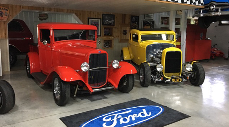 Wanamaker's '32 Ford Collection