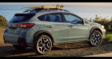 2018 Subaru Crosstrek - image courtesy of the manufacturer