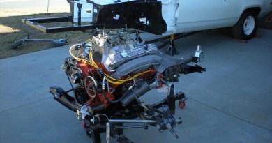 Mopar Engine Drivetrain Pull