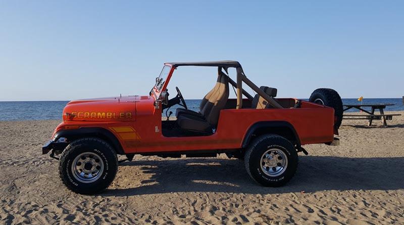 NFI Empire Jeep Scrambler - Beach