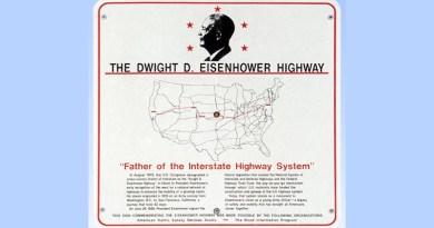President Eisenhower was responsible for America's roadways.