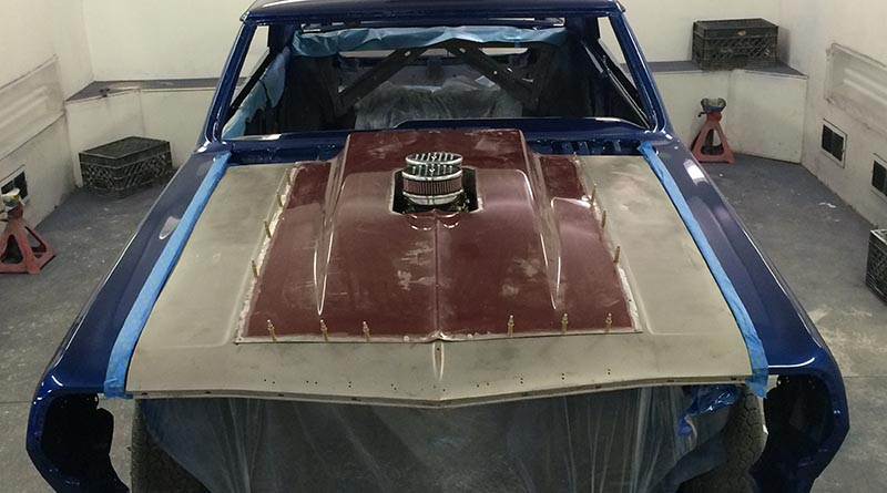 Maxwell envisioned every aspect of this car before rolling it into the shop.