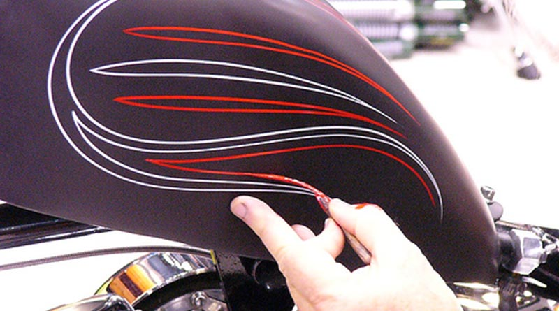 Pinstriping, an incredible talent. We scoured the internet to find some of the best examples of this automotive fine art.