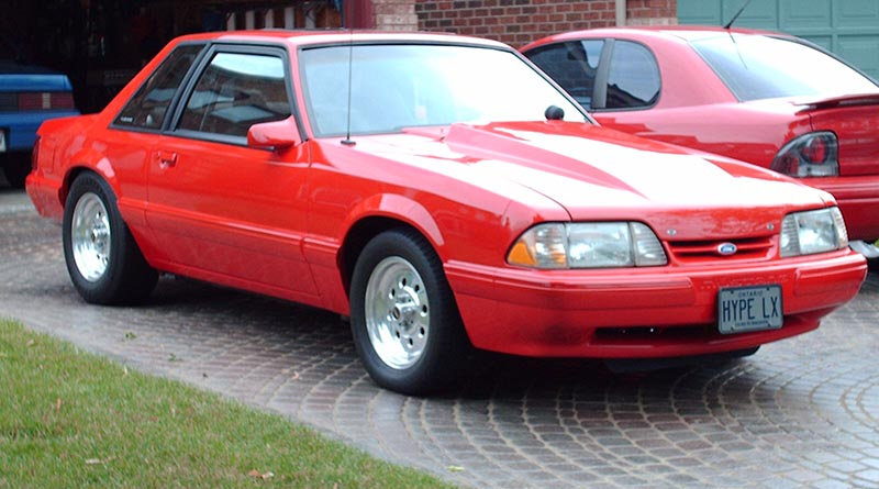 1988 Ford Mustang - Red