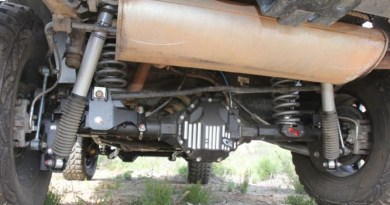 Axle Upgrades: G2 axles installed on a Jeep Wrangler JK