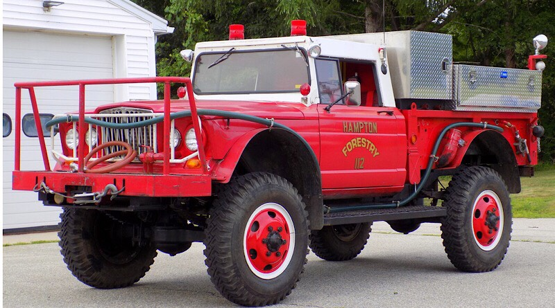 This Jeep Kaiser Brush Truck can whirl its way through natural disaster.