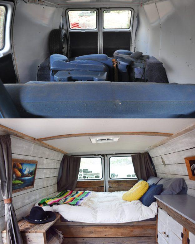 Meet the bachelor pad of van conversions.