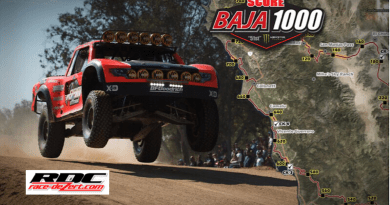 "In off-road racing, the Baja 1000 took place this past weekend with shocking results. Four-time Baja 1000 winner Rob MacCachren appeared to have taken home his fifth title. However, he got hit with time penalties ""for speeding and an unsafe, illegal pass on a highway."" The penalties were then enough to knock him from the top of the pedestal and secure the victory for (believed) second place finisher, Cameron Steele. Steele began the day in 13th but fought off penalties of his own to outgun Andy McMillin, who took third place."