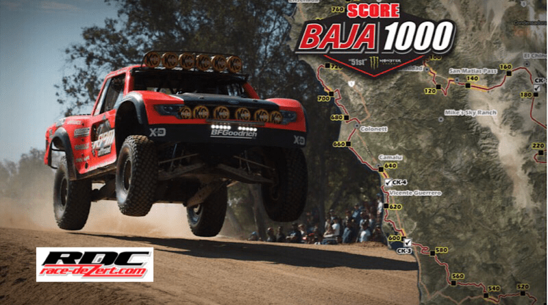 """In off-road racing, the Baja 1000 took place this past weekend with shocking results. Four-time Baja 1000 winner Rob MacCachren appeared to have taken home his fifth title. However, he got hit with time penalties """"for speeding and an unsafe, illegal pass on a highway."""" The penalties were then enough to knock him from the top of the pedestal and secure the victory for (believed) second place finisher, Cameron Steele. Steele began the day in 13th but fought off penalties of his own to outgun Andy McMillin, who took third place."""