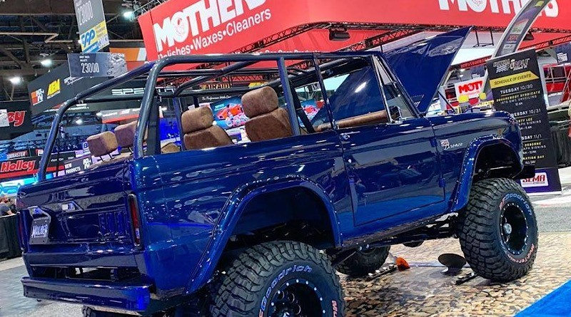 SEMA news highlight: Check out this wicked '74 Bronco!