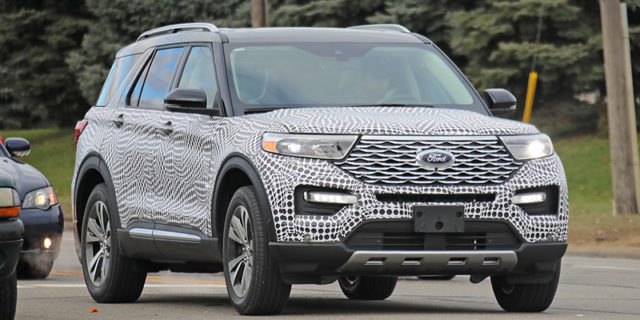 The 2020 Ford Explorer will debut just ahead of the 2019 Detroit Auto Show.