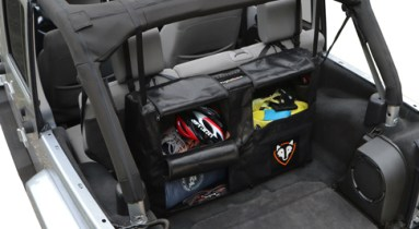 Rightline Gear offers unique storage solutions for Jeep Wranglers.