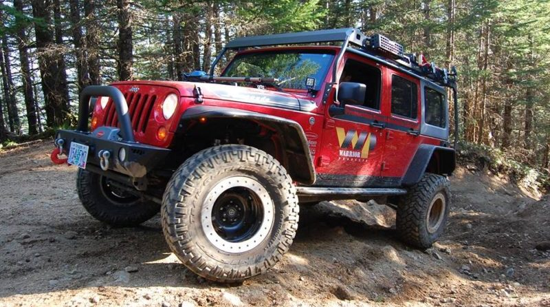 Warrior Products JK MOD Rack carries your gear and looks good doing it.