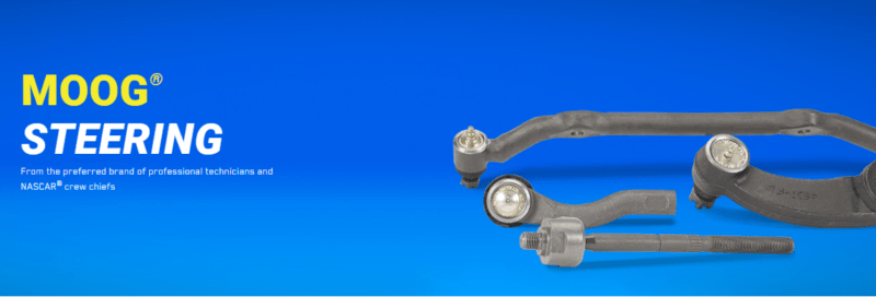 Steering components often have to be addressed as part of routine 100k mile maintenance. MOOG has earned its reputation as a quality manufacturer.