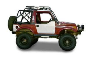 Warrior Products carries an entire product lineup of Suzuki Samurai accessories.