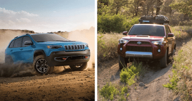 Both the 2019 Jeep Cherokee Trailhawk and the 2019 Toyota 4Runner TRD Pro have plenty to offer those who are willing to spend a little extra for stock off-road prowess.