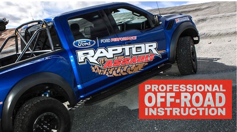 With six different terrain modes, Raptor owners can put them all to the test in the high sands of Utah at the only driving school officially backed by the Ford Motor Company.