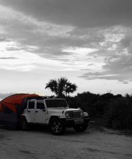 Our Rightline Gear setup withstood some harsh Florida storms with ease.