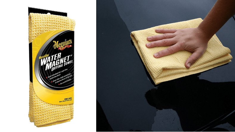 This Meguiar's microfiber towel makes our short list of stocking stuffers for car lovers.
