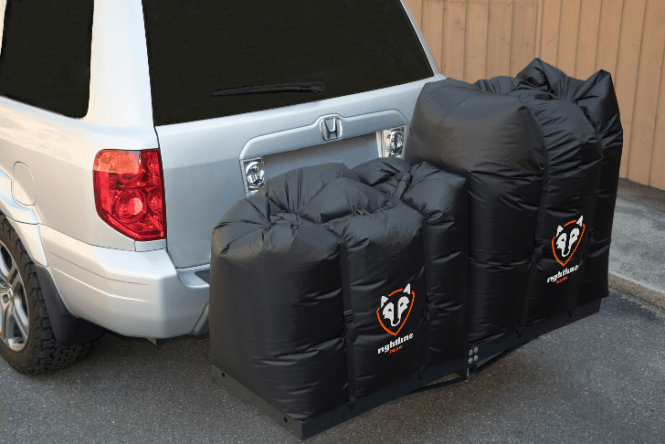 Rightline Gear Hitch Rack Dry Bags make our short list of stocking stuffers for car lovers.