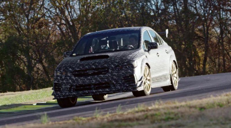Looks like America is finally getting a track-ready Subaru WRX STI.