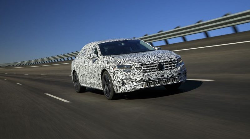 The new VW Passat is set to debut at the 2019 Detroit Auto Show.