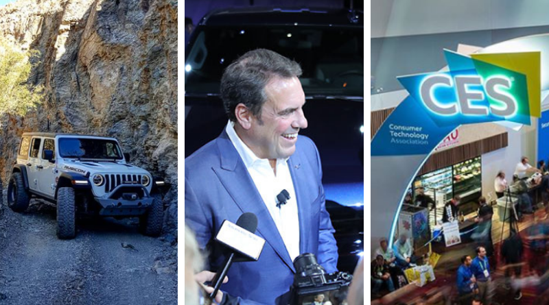 FCA 2018 auto sales figures are in and Jeep is lookin' good. GM names Mark Reuss new president. CES is taking the place of the Detroit Auto Show as the new start to auto show season.