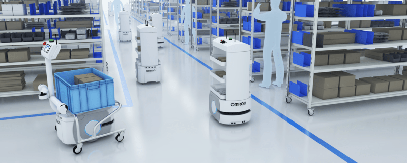 Omron's mobile robots represent the first wave of autonomous mobility solutions, as seen at the 2019 Consumer Electronics Show.