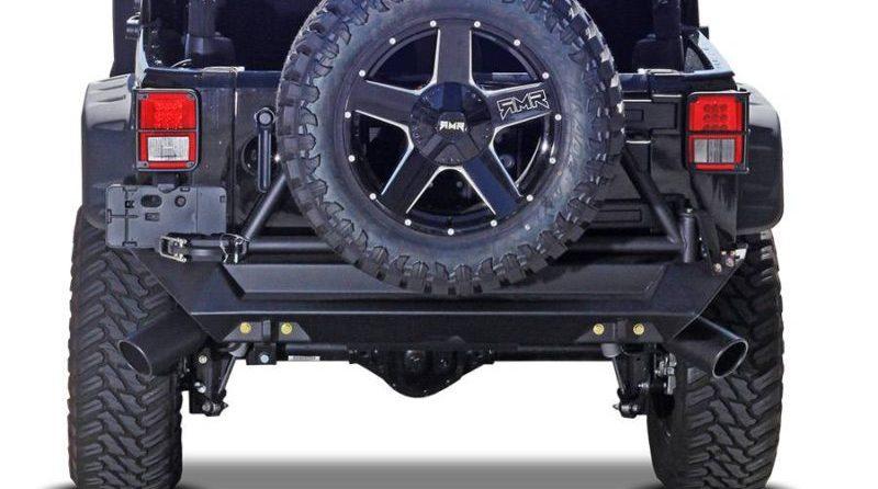 Gibson is one of our favorite aftermarket brands on this list of must-have new performance products for the Jeep Wrangler JL