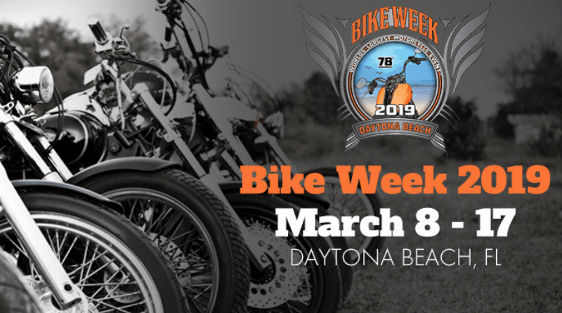 Those seeking some two-wheeled action can stick around the Sunshine State for Daytona Bike Week, March 8-17.