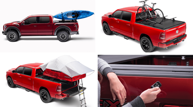 Not to be outdone, Retrax has four new tonneau covers to offer.