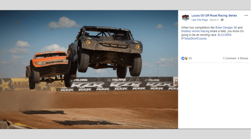 Plenty of star-studded names bring excitement to the Lucas Oil Off Road Racing Series.