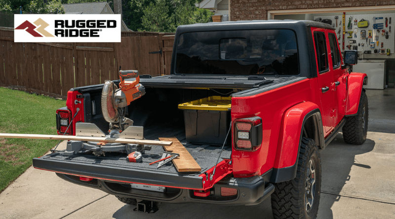 Rugged Ridge Armis Bed Covers Have Jeep Gladiator Accessories On Lock The Engine Block