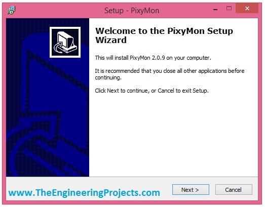 pixMon installation, how to instal pixymon, pixy camera software, pixy cam software, pixy software, install pixy software, download pixy software