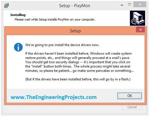 pixyMon installation, how to instal pixymon, pixy camera software, pixy cam software, pixy software, install pixy software, download pixy software