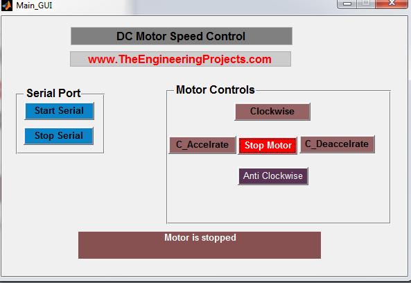 DC Motor Speed Control in Matlab, Control Speed of DC motor using Matlab, Matlab to control the speed of the DC motor , DC motor speed control with Matlab, How to control the speed of the DC motor using Matlab