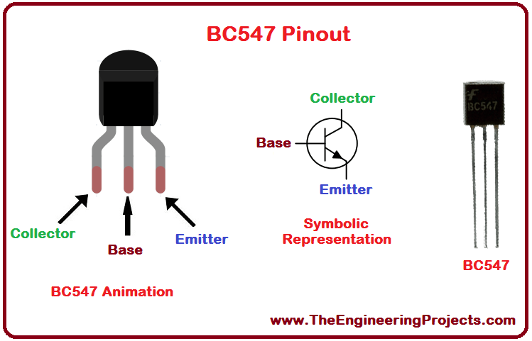 Introduction To Bc547 The Engineering Projects