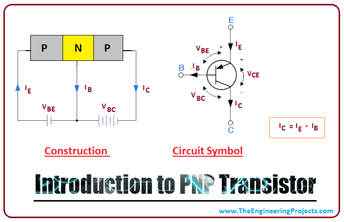 introduction to pnp transistor  the engineering projects