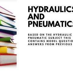Hydraulics and Pneumatics Question paper