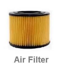 Vehicles air filter