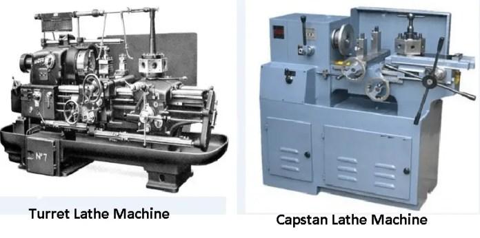 capstan and turret lathe